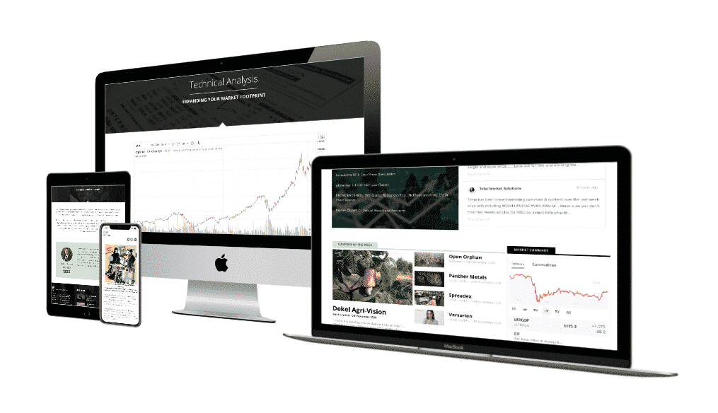 Financial news provider Total Market Solutions wanted a new website to better support their content growth plans and chose our Standard Business Website with design support and project management.